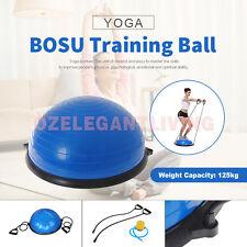 Sale Bosu Balance Ball Yoga Gym Exercise Fitness Core Pilates Half Resistance