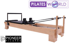 Pioneer Pilates Reformer Machine Wood Home Gym Fitness Yoga Exercise Equipment