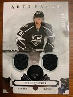 2017-18 Upper Deck Artifacts Tyler Toffoli Dual Patch /165