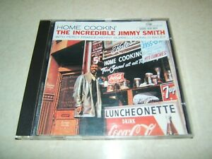 JIMMY SMITH : HOME COOKIN'   CD ALBUM 1996