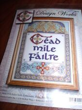 Design Works 100 THOUSAND WELCOMES CEAD MILE  FAILTE Counted Cross Stitch Kit