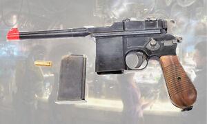 Marushin M712 SchnellfeuerPistole Plug Fire Blow Back Cap Gun Full Semi Auto
