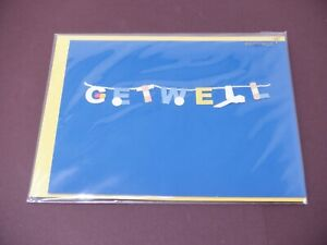 Papyrus Get Well Soon  Greeting Card New HC5755