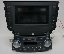 04-06 Acura TL 6-disc CD Cassette player 1TB0 w/Code TESTED 39100-SEP-A400 OEM
