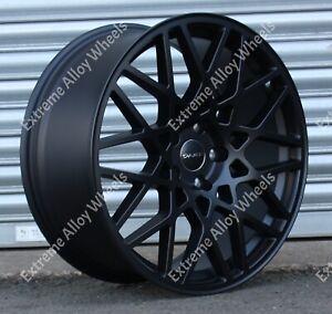 "Alloy Wheels 18"" LG2 For Vw Arteon Beetle Bora Caddy Cc Eos Golf 5x112 Black"