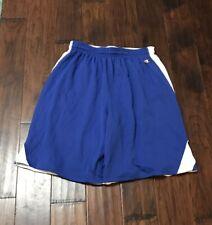 Champion Athletics Men's Reversible Blue/White Basketball Shorts Sz. Large NEW