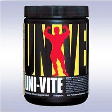 UNIVERSAL NUTRITION UNI-VITE (120 CAPSULES) multi-vitamin univite animal pak un