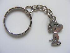 20 X Tibetan Silver Snoopy Dog Keyrings Wholesale Job Lot