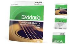 D'Addario EJ18 Phosphor Bronze Acoustic Guitar Strings, Heavy (1 Set) – Corrosio