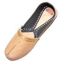 100% Leather Men Jutti Rajasthani Punjabi US Traditional Moajri Khussa FlipFlop.