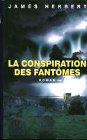 Livre la conspiration des fantômes James Herbert book