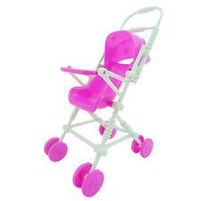 Baby Carriage Kinderwagen Zubehör Spielzeug Für Barbie Kelly Puppe Puppenhaus D