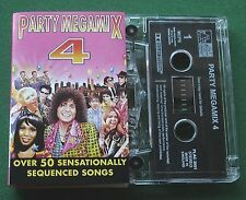 Party Megamix 4 Club Latino Spencer Davis Medley T Rex + Cassette Tape - TESTED