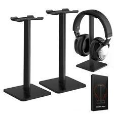 Headset Earphone Hanger Holder Headphone Stand Desktop Display Holder Rack Black