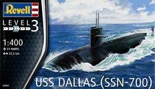 NEW Revell 1/400 USN LOS ANGELES-class Navy Attack Submarine USS DALLAS
