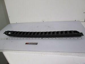 "igus 15.3.48 Energy E-Chain Conduit Series 15 Zipper Track, 17 Links, 1.5"" Wide"