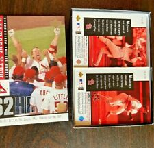 Upper Deck Mark McGuire's Chase for 62 Box Set 30 Regular Cards plus One XL Size