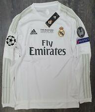 Real Madrid 2015/16 UCL Final Adizero Match Issue Home Shirt - Ronaldo 7