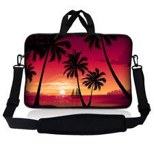 "15.6"" Laptop Sleeve Bag Case w Shoulder Strap HP Dell Asus Acer Hawaii Sun SP70"