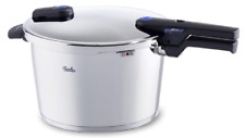 Fissler Vitaquick 8.5 qt 26cm Pressure Cooker w/ perforated Insert and Tripod