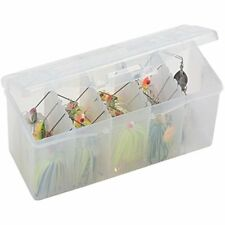 Bait Box Organized Storage Fishing Remove Racks To Hold Bags Of Worms Sport New