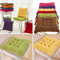 Chair Cushions Seat Pad Dining Room Garden Kitchen Home Office Patio With Tie On