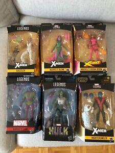 Marvel Legends Lot - Nightcrawler, She-Hulk, Kang, Boom-Boom, Blink, Dazzler