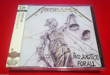 METALLICA - ...AND JUSTICE FOR ALL  - JAPAN JEWEL CASE SHM - FACTORY SEALED