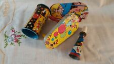 Vintage 1930-60 Noisemakers-New Year's Eve and Parties- Lot of 4