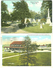 Sharon PA  Along Oakland Cemetery & The Club House and Casino, Buhl Farm