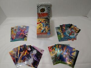 1994 Fleer ULTRA X-Men 150 Card Base + Four Subsets, including Silver X-Overs!