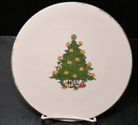 BC Clark Christmas Tree Plates Limited Edition plate 1990
