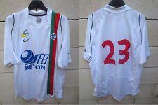 Maillot U.S CRETEIL LUSITANOS porté n°23 NIKE match worn shirt camiseta maglia L