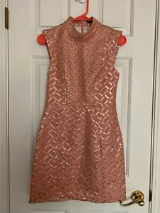 French Connection Pink Dress Size 0 - New With Tags