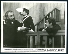 I Did It '73 GIANCARLO GIANNINI DOCK COURT VERY RARE