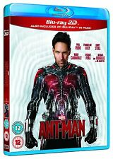 Marvel ANT-MAN 3D + 2D Blu-Ray BRAND NEW FREE SHIPPING
