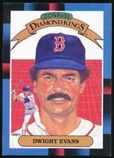 1988 Donruss Diamond Kings #16 Dwight Evans Boston Red Sox