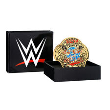 Official WWE Authentic ECW World Heavyweight Championship Belt Buckle Multi One