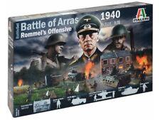ITALERI 1/72 FIGURES WWII BATTLE SET ROMMEL OFFENSIVE'40