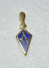 Masonic Royal & Select Masters Gold Plated Trowel Lapel Pin (LP036)