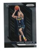 2018-19 Panini Prizm Basketball RC Michael Porter JR card #32