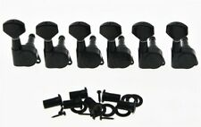 *NEW Wilkinson EZ-LOK Locking TUNERS Pegs for Fender Stratocaster Strat Black
