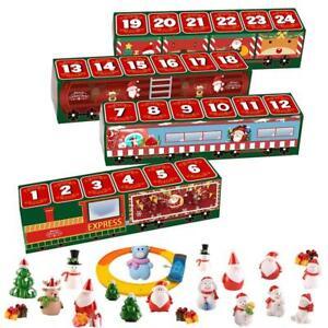 Christmas Countdown Calendars Train Blind Box Advent Countdown Calendar Gift