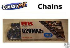 Cadenas, piñones y coronas RK para motos