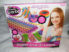 16x Cra Z art Shimmer n Sparkle ULTIMATE KIT loop, weave and wear! JOB LOT