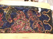 Gorgeous Liz Claiborne Royal Regal Colors ladies scarf