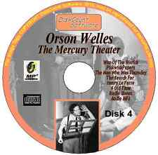 Orson Welles - War Of The Worlds, Pickwick Papers, Man Who Was Thursday MP3 CD