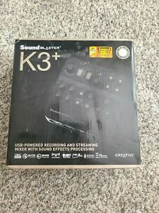 Creative Labs Sound Blaster K3+ Audio Mixer - USB