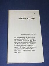 Robert morel Adan et eve collection Blanches 1971