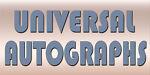 UNIVERSAL AUTOGRAPHS